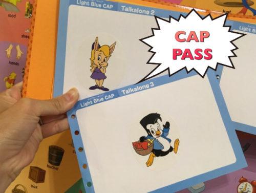 CAP課題をPASSしてもらえるご褒美シール