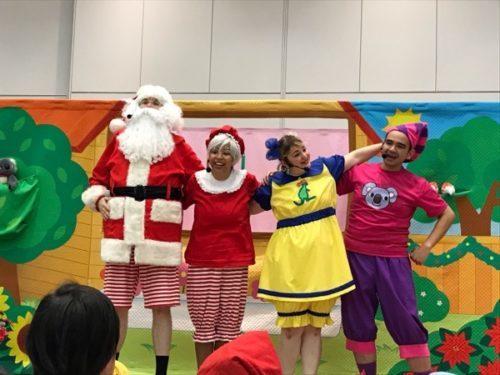 DWEクリスマスイベントのパフォーマンス
