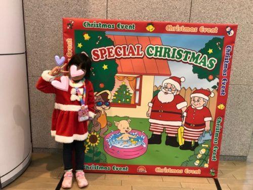 DWEクリスマスイベントのパネル写真
