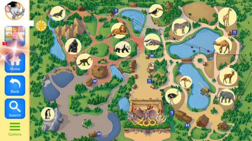 楽天ABCマウスのZoo動物園ゾウ