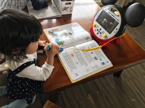 2歳シングアロングDVDでカラオケ